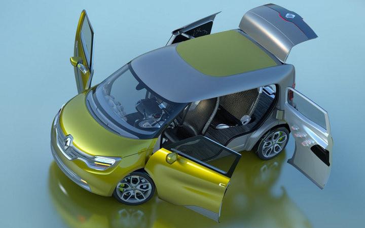 超可爱2011款雷诺Frendzy Concept