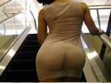 盘点不穿内裤上街的女人