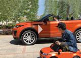视频试车 敞篷的路虎揽胜极光SUV浮夸吗?