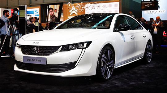 2018日内瓦车展实拍 标致全新一代508