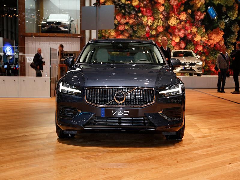2018日内瓦车展实拍 沃尔沃全新一代V60