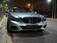 钻石银新奔驰E260L豪华版详细高清作业