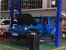 我的蓝色小马 Jeep牧马人进行二次保养