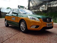 如愿的得绅宝D50出租车模型 实拍鉴赏