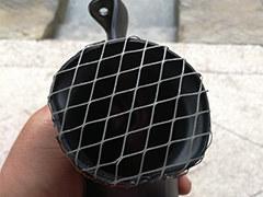 利用旧电蚊拍 自制滤芯进气口防护罩