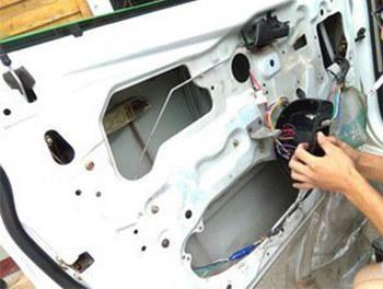 乐风升级四门电动升降 老车纪实改装