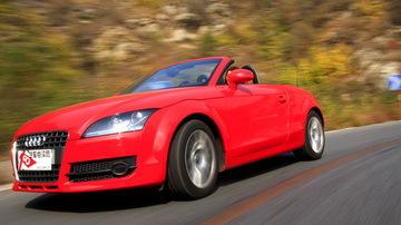 感受灵动之美 测试奥迪TT Roadster跑车