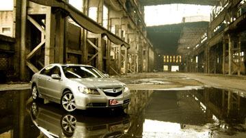 舒适度高于驾驶乐趣 测试2010款讴歌RL